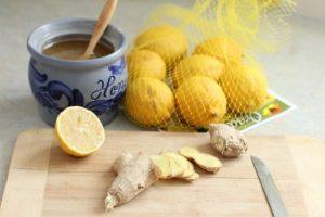 Імбир мед лимон рецепт