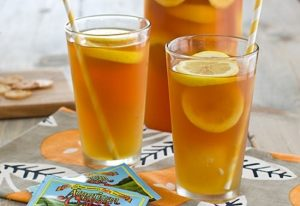 Имбирный чай с мёдом и лимоном при простуде