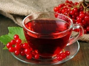 Чай из калины и мёда