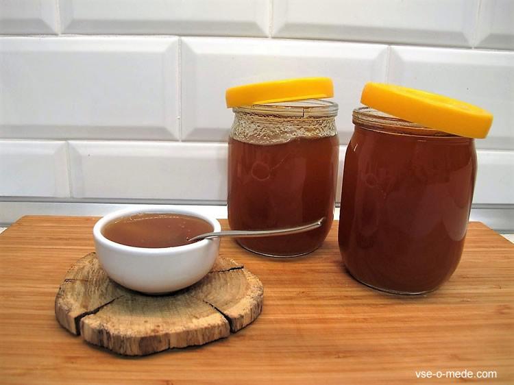 Через какое время мёд засахаривается
