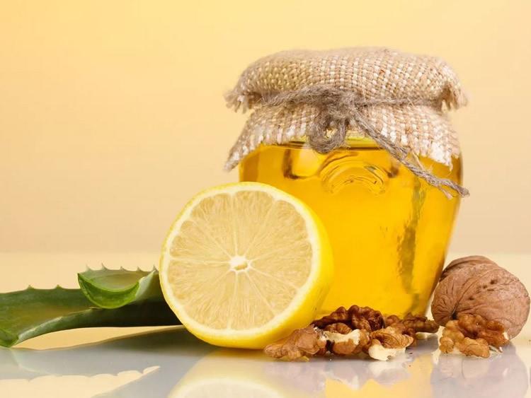 Мёд алоэ орехи лимон