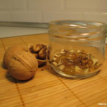 Орехи в меду в банке рецепт