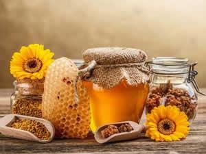 Полезные соединения в мёде